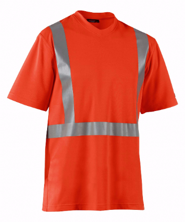 Blaklader 3382 High Visibility T-Shirt (Orange)